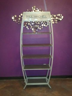 DISPLAY RACK DISPLAY ALL YOUR BEAUTY PRODUCTS LOOKS NEW RUSK WELLA