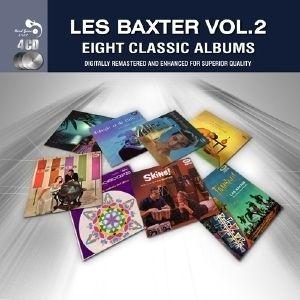 Les Baxter EIGHT CLASSIC ALBUMS VOL. 2 New Sealed 94 Tracks 4 CD BOX
