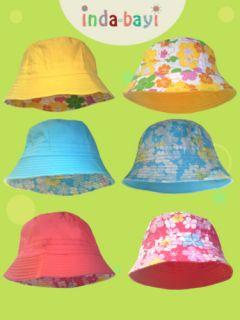 Baby Toddler Reversible Summer Hat Sun Hat