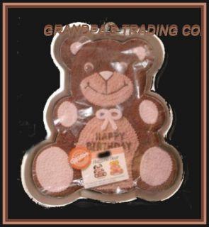 wilton huggable teddy bear cake pan mold 1982 502 3754 with decorating