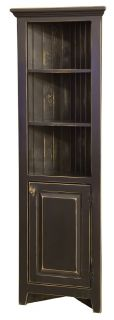 Amish Kitchen Corner Cabinets Jelly Pantry Bathroom Storage Solid Wood