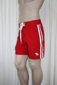 Abercrombie Fitch Mens Beaver Meadows Swim Board Shorts Swimsuit Size