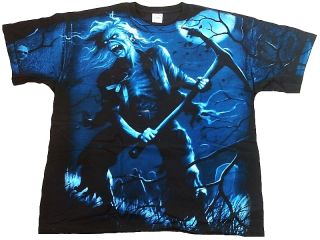 Maiden Benjamin Breeg All Over Print Heavy Metal T Shirt L 43