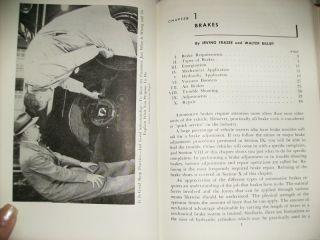 Brakes Power Transmission Systems Retro 1962 Book Bedell Frazee