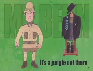 Jungle Out There Funny Mr Benn Retro TV Cartoon Character