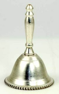 Plain Silver Altar Hand Bell Assorted Styles Wiccan Ritual Pagan