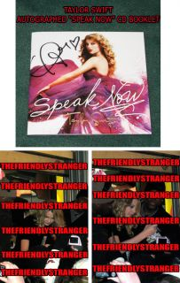personally Signed Autographed Taylor Swift New Slipcase CD ...