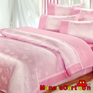 Hello Kitty Rose LACE Quilt Cover Single Bedsheet