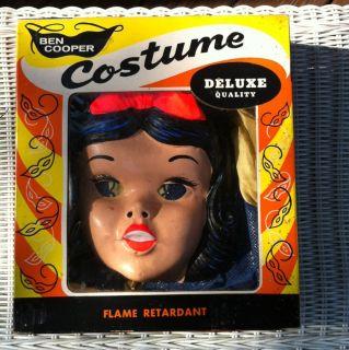 Antique Ben Cooper Halloween Costume Vintage Snow White Costume W