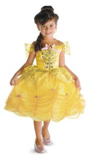 Beauty and The Beast Belle Disney Princess Classic Child Costume Med 7