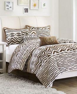 JLA Home Tara 200T Twin 4 Piece Comforter Bed In A Bag Set NEW