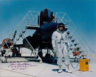 SR71 Aviation Test Pilot Autograph Ben Rich James Eastham Signed