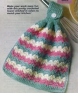 CROCHET TEA TOWEL TOPPER PATTERNS CROCHET PATTERNS