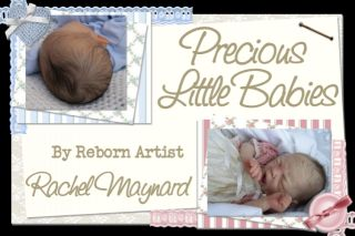 Precious Little Babies Reborn Baby Boy Twins Rosebud by Cindy Musgrove