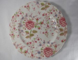 Johnson Brothers Rose Chintz Pink Older Stamp Dinner Plate(s)