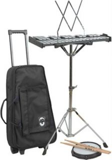 NEW CB PRO DELUXE DRUM PERCUSSION BELL KIT SET & TRAVEL BAG CASE w