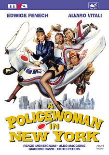 Policewoman In New York DVD 1981 MYA009 Edwige Fenech Like New