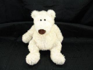 RARE 14 Gund Plush White Schlepp Polar Bear Lovey 1460