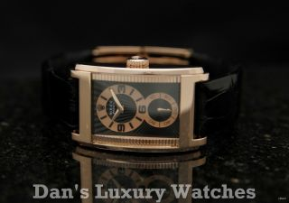 Rolex Geneve Cellini Prince Everose Gold Leather Watch B P 5442 5 2007
