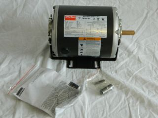 Dayton 1 4 HP Belt Drive Fan Blower Electric Motor D79