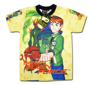 Ben 10 Alien Force Boy Kid New T Shirt Size M Age 5 6 606