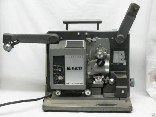 BELL & HOWELL FILMOSOUND 16mm Sound PROJECTOR DA MASTER As Is