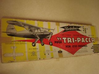Berkeley Tri Pacer Control Line Model Airplane Kit