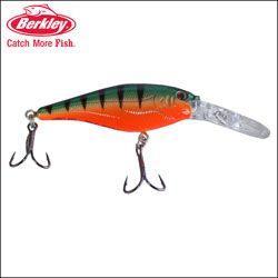 Berkley Frenzy Flicker Shad Pro 3 Pack Orange Belly Perch New