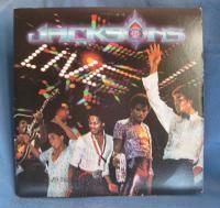 RARE Vintage Jacksons Live Vinyl 2 LP Record Album Set 1981 Michael