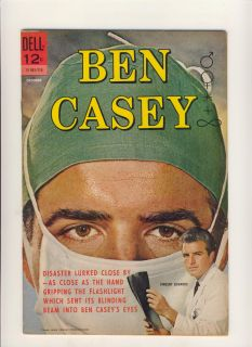 Ben Casey 2 Dell Comics TV Show Silver Age Photo Cover