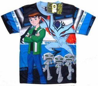 Ben 10 Alien Blue New Kid T Shirt Size s Age 2 3 Year Movies Hero TV