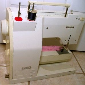 Bernina 1130 Electronic Serviced Sewing Machine Case Manual