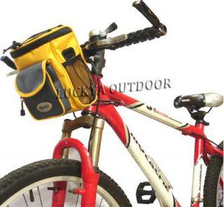 Cycling Bicycle Bike Handlebar Basket Carrier Bag Pack