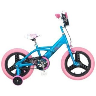 Kids Girls 16 Mongoose Training Wheels BMX Bike Bicycle