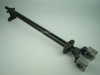 Black Steering Stem with Big Bar 1 1 8 Clamp for The Yamaha Banshee