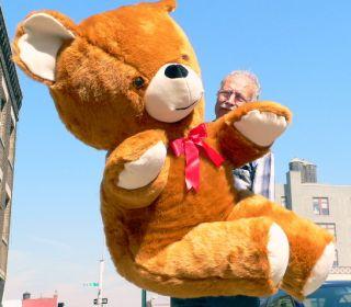 54 Giant Teddy Bear Big Plush Brown Jumbo Large Huge