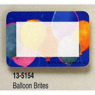 24 Balloon Brite Name Tags Birthday Party Favors Supply
