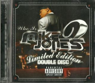 Mike Jones Who Is Mike Jones Limited Edition 2CD 2005 Screwed Chopped