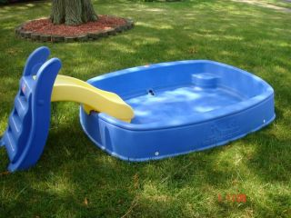 step2 big splash center w slide kid pool step 2 pickup only