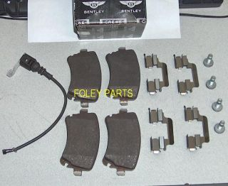 Bentley Continental GT Flying Spur Rear Brake Pads 4016