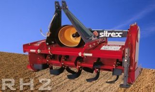 Sitrex RH2 105 46 Rotary Tiller for 15 18 HP Tractors 3 Point Hitch