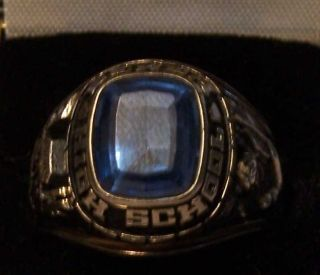 Berea Oh High School Class Ring 1984