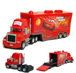 Movie Mack Super Liner Trailer Truck Toy Car Big Size 21cm 8 5