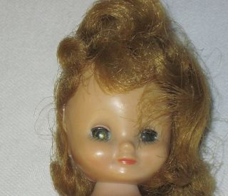 Vintage 1950s Betsy McCall Doll for Repair Parts TLC 8 In