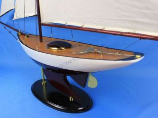 Bermuda Sloop 50 Large Model Yacht Wooden Sailboat Manufacturers New