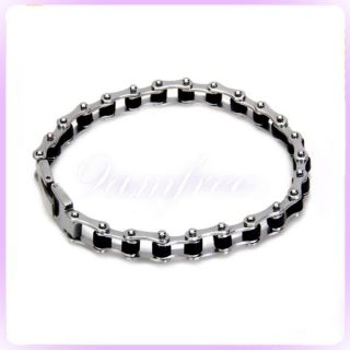 Bike Bicycle Chain Stainless Steel Men Bracelet Fashion