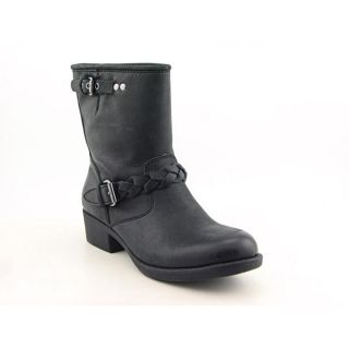 Report Bernsen Womens Size 8 Black Leather Fashion Mid Calf Boots