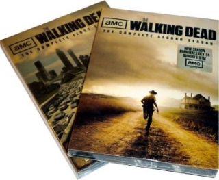 The Walking Dead The Complete Season 1 2 Bundle (DVD, 6 Disc Set)