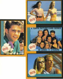 Beverly Hills 90210 Vintage Complete Card Set from 1991
