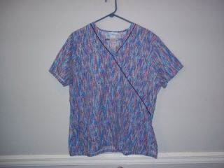 sb scrub top cute sz l